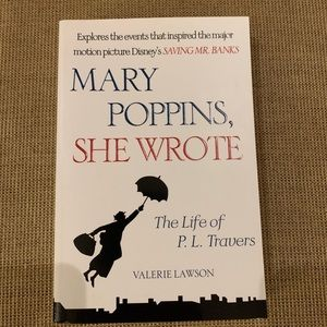 NEW 'Mary Poppins, She Wrote' Book by PL Travers